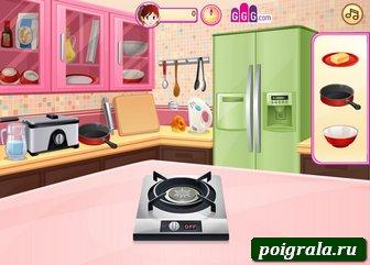 Картинка к игре Кухня Сары, шоколадные пончики