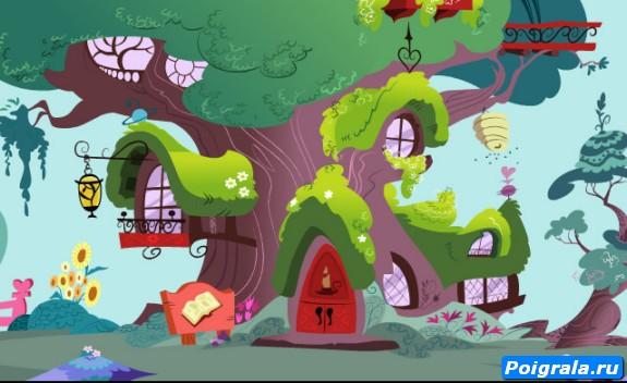 Картинка к игре Бродилка в Понивилле