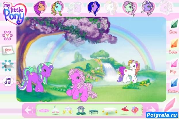 Картинка к игре Создай своих май литл пони
