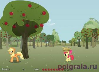 Игра Яблочная ферма Эпплджек