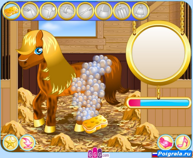 Картинка к игре Ухаживаем за пони
