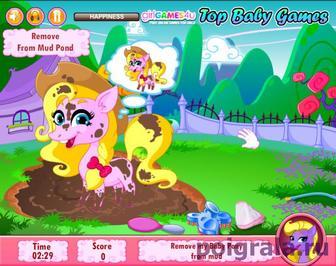 Картинка к игре Уход за пони
