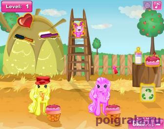 Картинка к игре Уход за пони для девочек