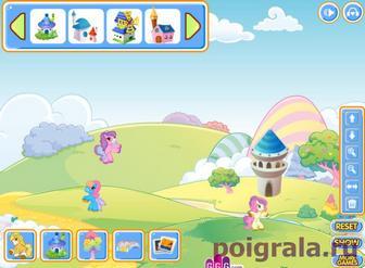 Картинка к игре Май литл пони для девочек