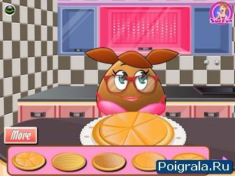 Картинка к игре Поу готовит еду