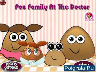 Игра Картошка Поу у доктора