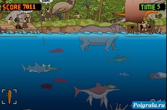 Картинка к игре Древняя акула