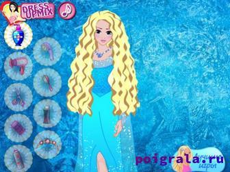 Картинка к игре Прически Анны и Эльзы