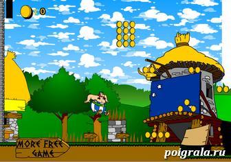 Картинка к игре Приключение Обеликса