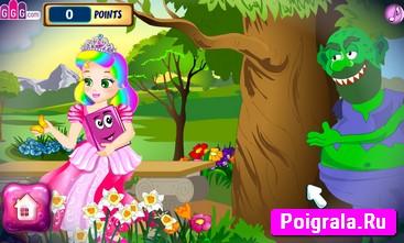 Картинка к игре Принцесса Джульетта, побег из замка