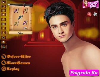 Картинка к игре Одень Гарри Поттера