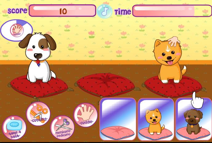 Картинка к игре Уход за домашними животными