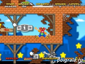 Картинка к игре Клоун в лабиринте