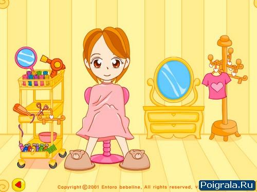 Картинка к игре Рара в парикмахерской