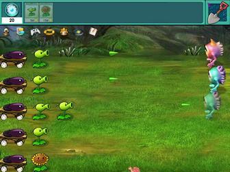 Картинка к игре Зобми против растений
