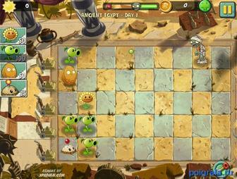 Картинка к игре Зомби против растений 2