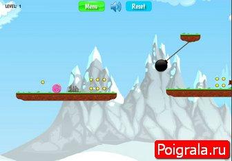 Картинка к игре Красный шарик 2