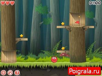 Картинка к игре Красный шарик 5