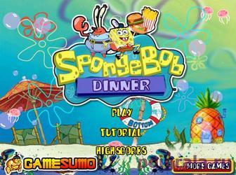 Игра Ресторан Спанч Боба