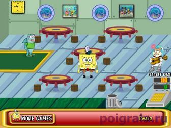 Картинка к игре Ресторан Спанч Боба
