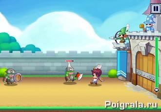 Картинка к игре Защитники крепости