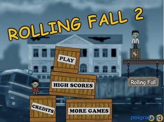 Игра Rolling fall 2
