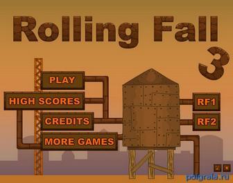 Игра Rolling fall 3