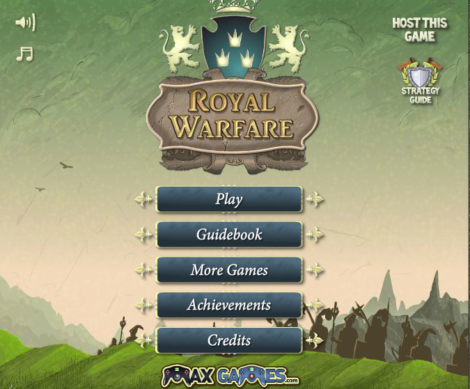 Игра Royal Warfare