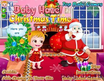 Игра Рождество у малышки Хейзел