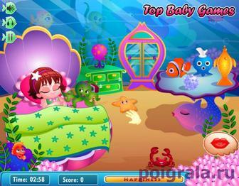 Картинка к игре Маленькая русалочка Лола