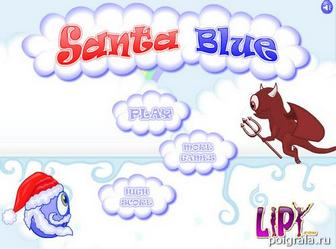 Santa blue картинка 1