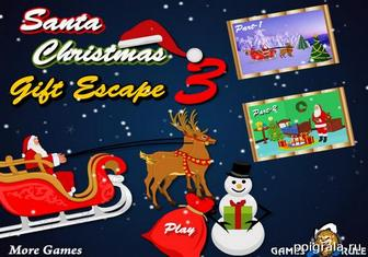 Santa christmas gift escape 3 картинка 1