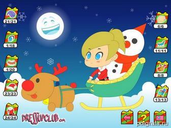 Картинка к игре Santa Girl