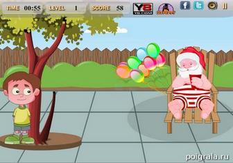 Картинка к игре Санта и непослушный мальчик