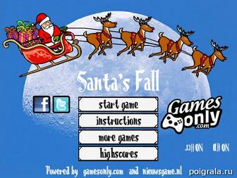 Santa's fall картинка 1