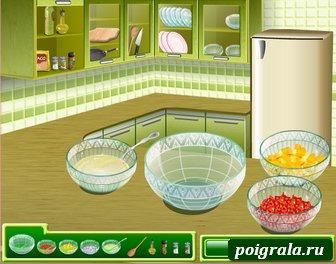 Картинка к игре Кухня Сары, рыбное тако