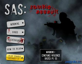 Игра Sas zombie assault