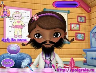 Картинка к игре Сбрейте бороду Дотти
