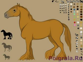 Сделай лошадку картинка 1