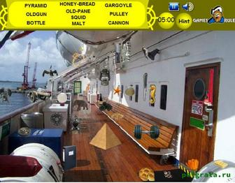 Палуба корабля картинка 1