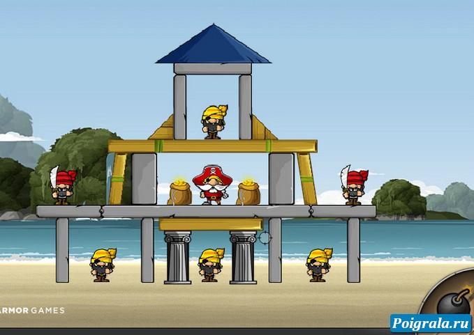 Игра Осада пиратов