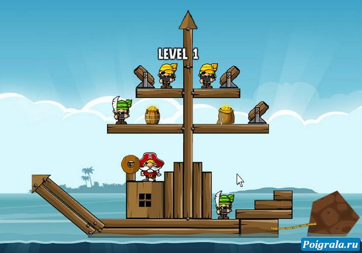 Картинка к игре Осада пиратов