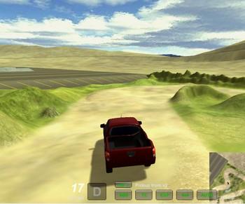 Симулятор вождения автомобиля в 3д