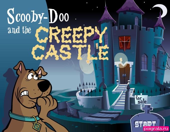 Игра Скуби Ду бродилка в замке