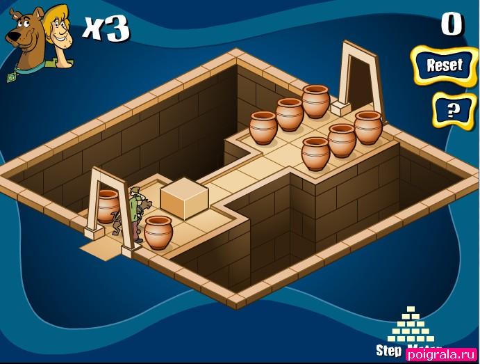 Картинка к игре Скуби Ду в лабиринте