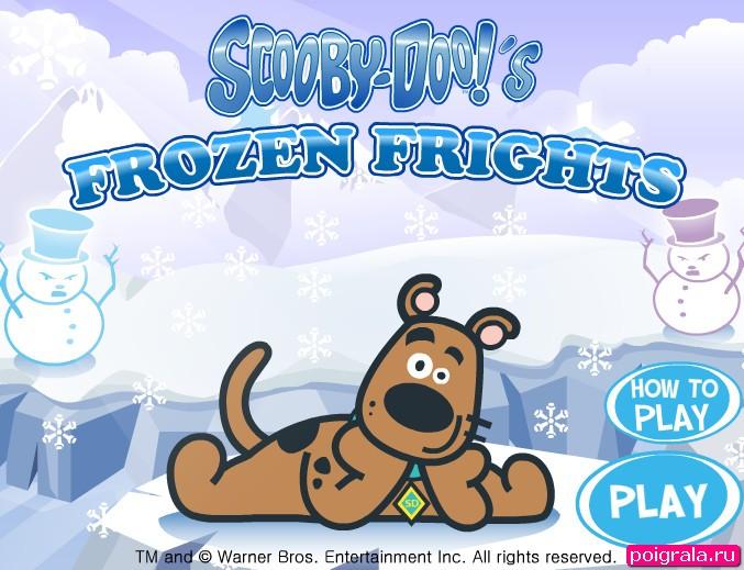Игра Скуби в ледяном замке