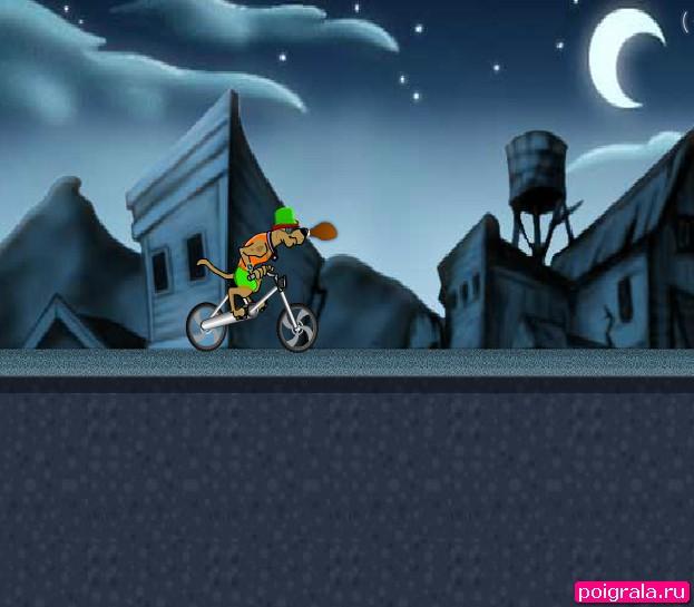 Картинка к игре Скуби ду гонки на велосипеде