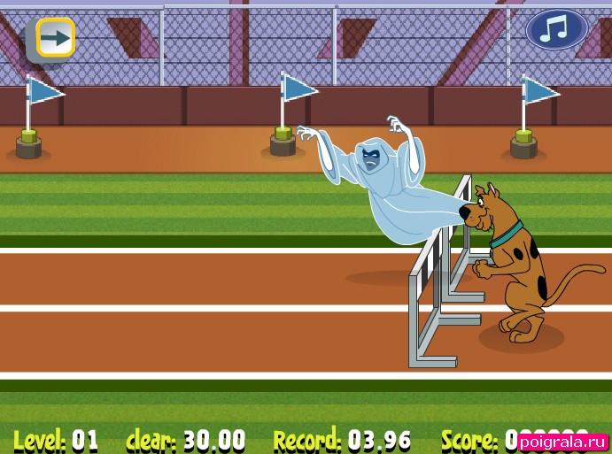 Картинка к игре Скуби Ду бег с препятствиями