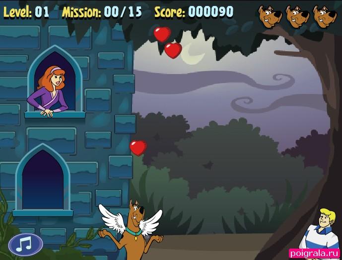 Картинка к игре Скуби Ду любовный квест