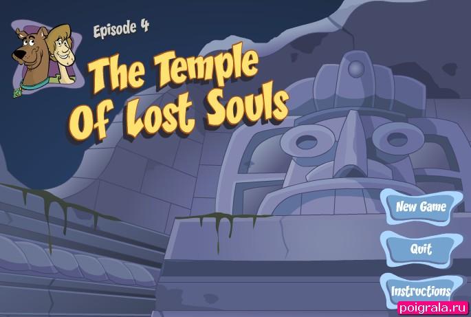 Игра Скуби Ду в затерянном храме